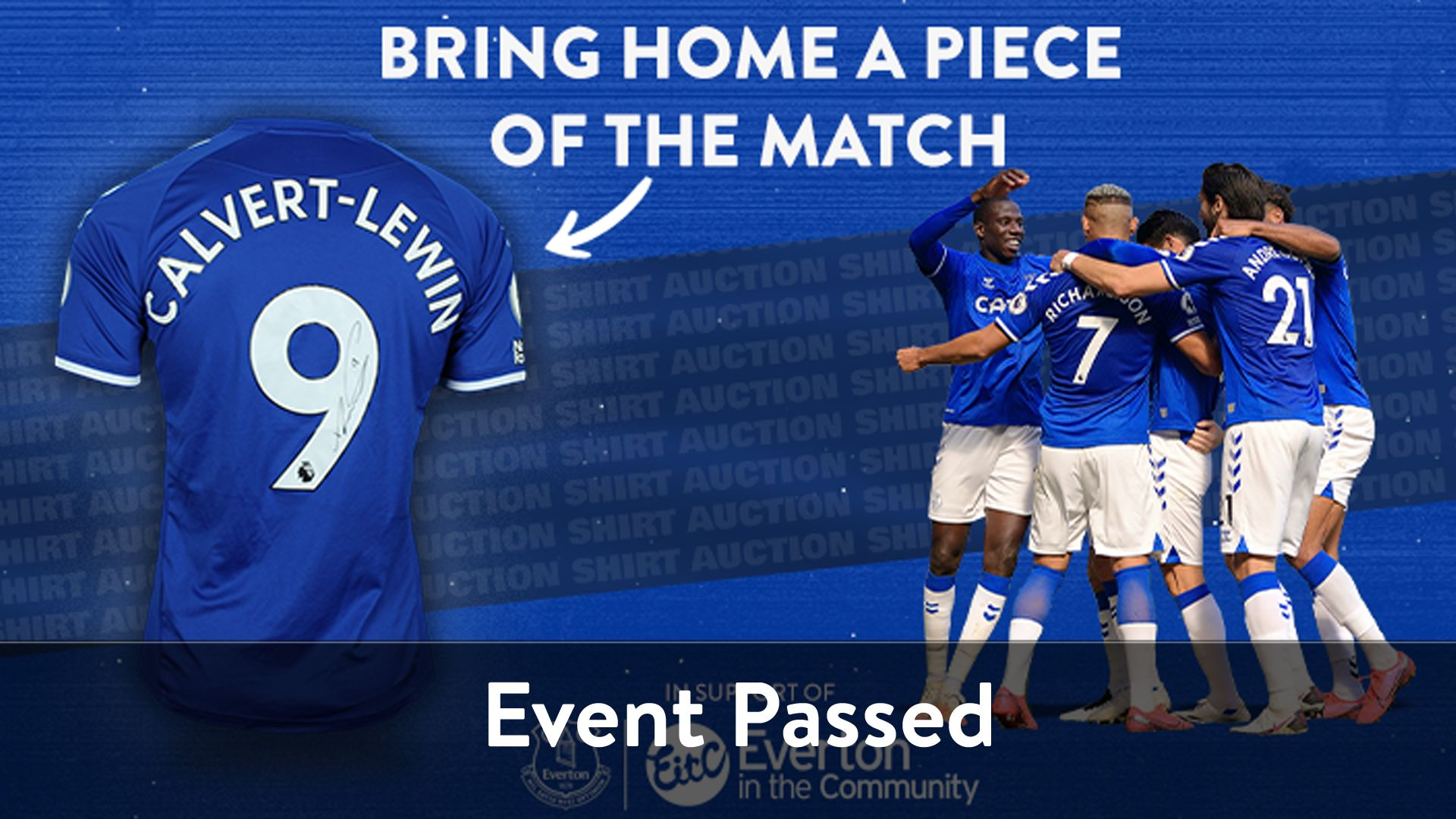 Everton's FA Cup Match-Worn Shirts Up For Grabs
