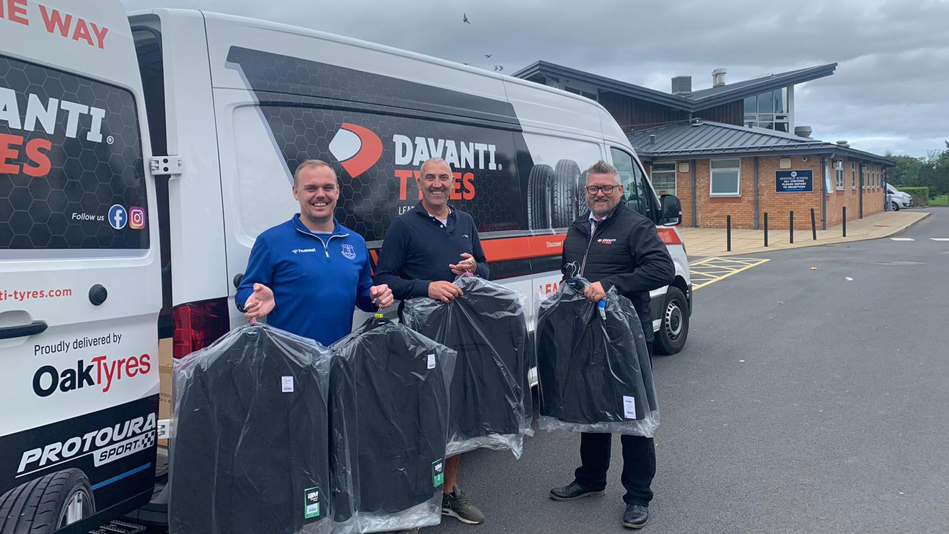 Davanti Tyres And EitC Distribute More School Uniforms For Local Children Heading Back To School